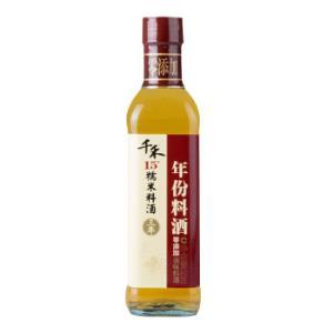 千禾料酒零添加3年料酒不使用添加剂500mL*2件 11.6元(合5.8元/件)