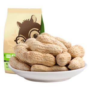 三只松鼠奶油味花生150g/袋坚果炒货休闲零食带壳花生*12件 82.8元(合6.9元/件)