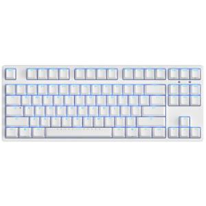 ikbcF-87时光机87键机械键盘Cherry红轴白色408元