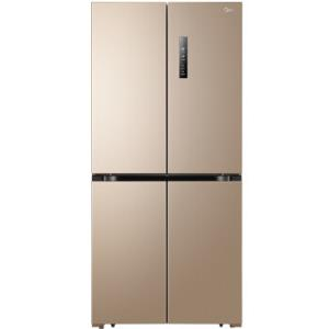 美的(Midea)BCD-468WTPM(E) 468升十字对开门多门冰箱 纤薄机身 变频节能 风冷无霜 静音省电 家用 3299元