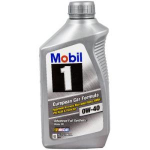 Mobil 美孚 1号 0W-40 SN 全合成机油 1QT *4件 198.31元(合49.58元/件)
