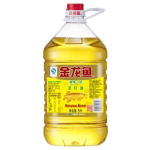 金龙鱼 食用油 精炼一级 菜籽油 5L 49.7元