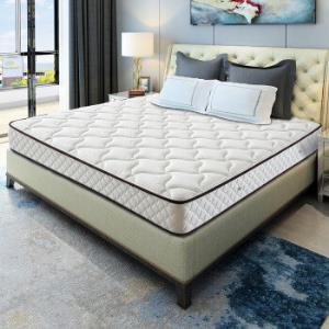喜临门3D椰棕床垫邦尼尔弹簧床垫席梦思床垫极光白1800*2000 1399元