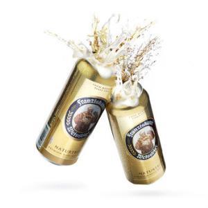 德国进口 范佳乐(原教士)纯麦白啤酒 500ml*24听 整箱装99元