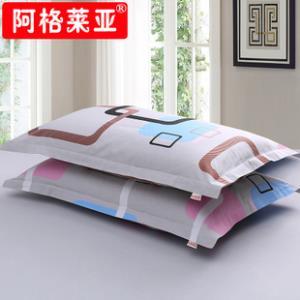 一对装纯棉枕套女成人大号枕头套情侣卡通加厚单人100%全棉枕芯套 券后19.8元