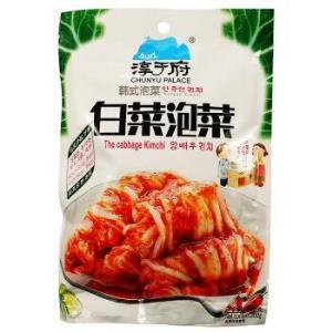 淳于府 韩式泡菜辣白菜 白菜泡菜200g 4.95元