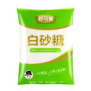 舒可曼白砂糖1kg*10件    98元(合9.8元/件)