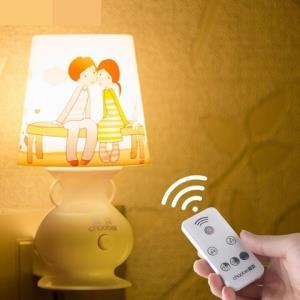 超贝LED小夜灯插电遥控+10档调光0.8W 9.9元包邮(需用券)
