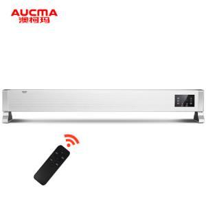 澳柯玛(AUCMA)遥控立式/壁挂居浴两用踢脚线取暖器家用/电暖器/电暖气家用/办公室NH22M611(Y) *2件1406.24元(合703.12元/件)