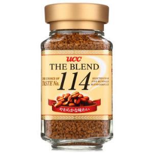 UCC悠诗诗114黑咖啡速溶咖啡90g/瓶均衡细腻两件起售*3件 59.96元(合19.99元/件)