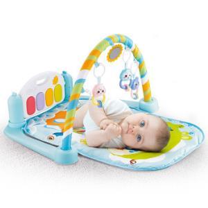 亲多贝 婴儿健身架器脚踏钢琴 宝宝新生儿玩具0-6个月婴幼儿玩具 9968-18大象款 椭圆(绿) 长边73cm 69元