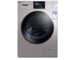 TCL XQG100-W500BH 10公斤 滚筒洗衣机 BCD-50H 50L 双门冰箱 2199元