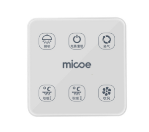 Micoe四季沐歌M-YF5016双电机智能触控风暖浴霸+凑单品260元(需用券)