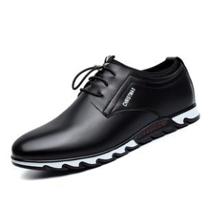皮鞋男士休闲鞋单鞋真皮牛皮男 券后88元