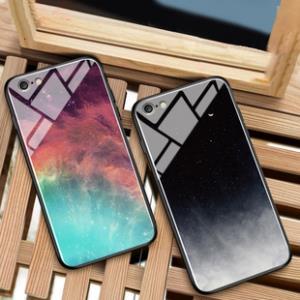 苹果7plus手机壳ins冷淡风iphone6splus玻璃壳苹果8情侣潮8plus男女款i7全包iphone6防摔简约6s网红抖音7p  券后10元