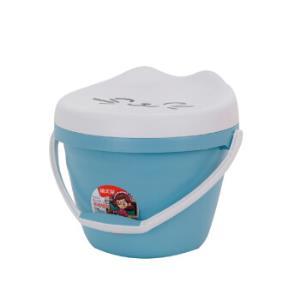 禧天龙Citylong 儿童玩具收纳凳带盖 8L 3080 *6件 110元(合18.33元/件)