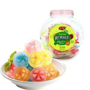 一邦 溜溜棒 鲜果时光水果切片棒棒糖 休闲零食 6g*60支 *2件 29.86元(合14.93元/件)