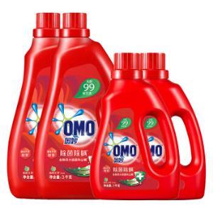 奥妙洗衣液16斤超值除菌除螨套装(3kg×2+1kg×2)源自天然酵素(新老包装随机发货) 86.31元