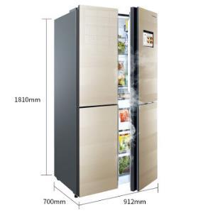 Hisense海信BCD-550WMB1DPUJ十字对开门冰箱550升 9111元