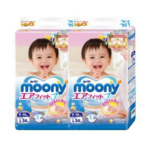 Moony尤妮佳婴儿纸尿裤L54片 62.4元