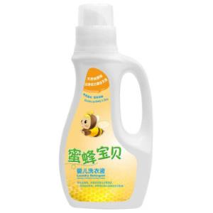 威洁士 蜜蜂宝贝婴儿洗衣液 原味 1L *2件 62.5元(合31.25元/件)