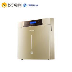沁园净水器家用厨房纯水机RO反渗透过滤05A双出水五级过滤1499元