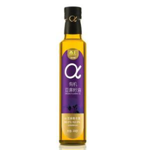 XIWANG西王智利多有机亚麻籽油250ml 49.9元