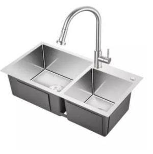 KEGOO科固K10020不锈钢厨房水槽龙头套装 679元