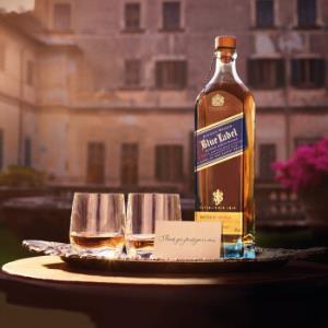 JOHNNIEWALKER尊尼获加蓝牌调配型苏格兰威士忌750ml 828元