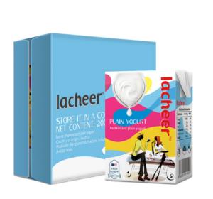 兰雀进口酸奶200g*24整箱原味鲜奶发酵乳保加利亚益生菌Lacheer奥地利原装常温酸奶*3件 163元(需用券,合54.33元/件)
