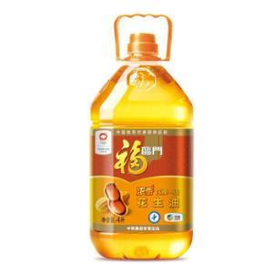福临门浓香压榨一级花生油4L(定金5元,6.1日零点,需用券) 67.8元