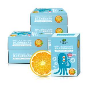 英国小树苗 婴儿天然橙油洗衣皂170g*6 儿童内衣肥皂 德国检测认证 *4件91.52元(合22.88元/件)