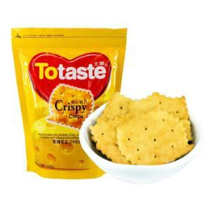 土斯(Totaste)雪融奶酪味爽心脆片饼干芝士味惊奇脆片酥脆可口休闲零食蛋糕甜点心168g*19件105.2元(合5.54元/件)