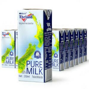 Theland 紐仕蘭 全脂牛奶 250ml 24盒 普通裝 *3件 165.95元包郵(雙重優惠)