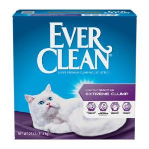 歷史低價:EverClean藍鉆膨潤土砂貓砂紫標25磅/11.3kg*2件 195元(合97.5元/件)