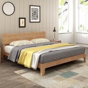 丽巢TB-07北欧日式实木床单床150*200cm 999元包邮