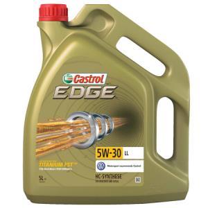 Castrol嘉实多EDGE极护FST5W-30LLC3全合成机油5L+凑单品    248.64元