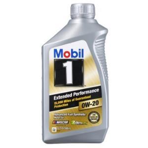 Mobil美孚美国进口1号EP0W-20SN级全合成机油1QT/0.946L 240元