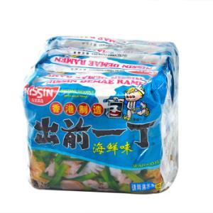 中国香港 出前一丁 方便面 海鲜味 100g*5袋 五连包 *2件32.86元(合16.43元/件)