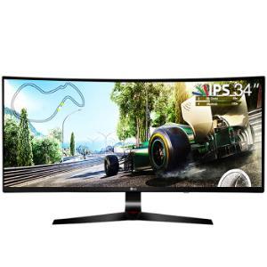 LG34UC79G-B34英寸IPS显示器(2560×1080、FreeSync、144Hz)