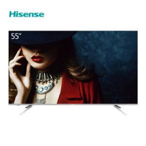 海信(Hisense)电视 HZ55E5A 55英寸 4K超高清 HDR 金属一体超薄全面屏 智慧语音 AI智能液晶平板2999元