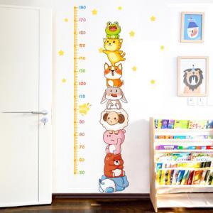 趣然儿童房PVC卡通身高墙纸 4.1元(需用券)
