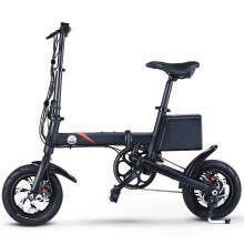 24日0点:Stigo Select电动车 电动代步车可折叠助力自行车迷你单车成人代驾10.4Ah锂电池 EF1 消光黑 1599元