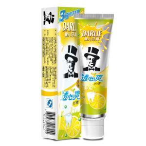 DARLIE 黑人 透心爽 牙膏  柠檬 120g 5.95元