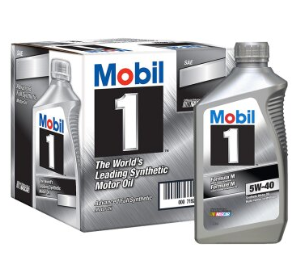 Mobil美孚美孚1号SN5W-40全合成机油946ml*10件 435.3元(合43.53元/件)