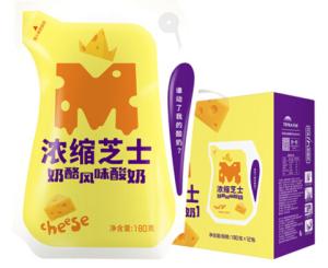 天润(TERUN)新疆特产浓缩芝士奶酪180g*12袋酸奶酸牛奶*2件+凑单品60元(需用券,合30元/件)