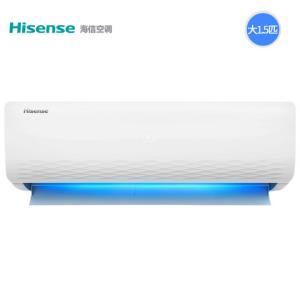 Hisense海信KFR-35GW/E36A3变频壁挂式空调挂机大1.5匹 2079元(需用券)