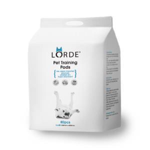 lorde宠物训导尿垫狗狗尿垫80片S码33X45*2件 82.36元(合41.18元/件)