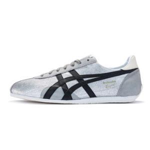 Onitsuka Tiger 鬼冢虎 RUNSPARK LE TH201L-9390 男士运动休闲鞋 银色/黑色 43.5 369元