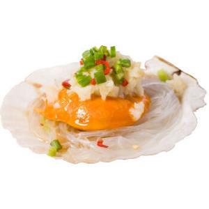 獐子岛冷冻蒜蓉粉丝扇贝(MSC认证)400g12只虾夷扇贝烧烤食材自营海鲜水产 19.8元
